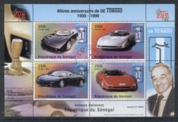Senegal 1998 Sports Cars, De Tomaso MS CTO - Senegal (1960-...)