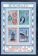 Seychelles 1978 QEII Coronation 25th Anniversary MS MUH - Seychelles (1976-...)