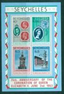 Seychelles 1978 QEII Coronation, 25th Anniversary , Royalty MS MUH - Seychelles (1976-...)