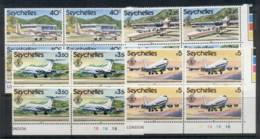 Seychelles 1981 Seychelles International Airport Blk4 MUH - Seychelles (1976-...)