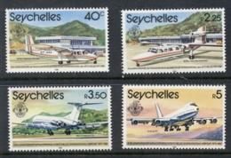Seychelles 1981 Seychelles International Airport MUH - Seychelles (1976-...)
