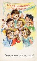 Illustrateur : Germaine Bouret : Grand Concours De Grimaces - Comme On Ressemble à Nos Parents ! - Bouret, Germaine
