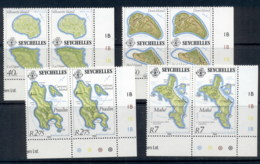 Seychelles 1982 Island Maps Pr MUH - Seychelles (1976-...)