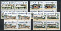 Seychelles 1982 Transport Blk4 MUH - Seychelles (1976-...)