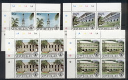 Seychelles 1983 Buildings Blk4 MUH - Seychelles (1976-...)
