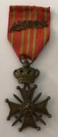 Militaria. Médaille Décoration Belge Guerre 14-18. Médaille Croix De Guerre. Oorlogskruis - Belgique