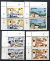 Seychelles 1983 World Communication Year Pr MUH - Seychelles (1976-...)