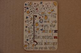 Image Pieuse Enluminée - Devotion Images