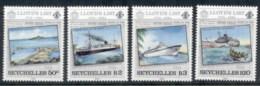 Seychelles 1984 Lloyd's List, Ships MUH - Seychelles (1976-...)