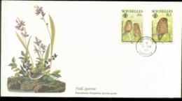 Seychelles 1985 Audubon Birds,  Franlkin Mint FDC Lot79645 - Seychelles (1976-...)