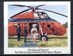 Seychelles 1985 Queen Mother 85th Birthday MS MUH - Seychelles (1976-...)