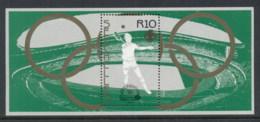 Seychelles 1988 Summer Olympics Seoul MS MUH - Seychelles (1976-...)