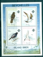 Seychelles 1989 Island Birds MS MUH - Seychelles (1976-...)