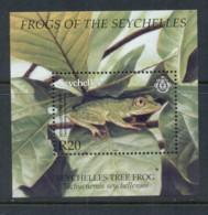 Seychelles 2003 Frogs MS MUH - Seychelles (1976-...)