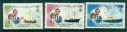 Seychelles ZES 1981 Charles & Diana Royal Wedding 3v. SPECIMEN Opt MUH Lot81898 - Seychelles (1976-...)