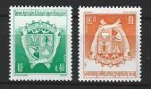 "TAAF YT 184 & 194 "" Armoiries "" 1994-95 Neuf** - Ongebruikt"