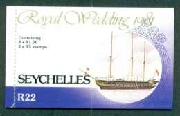 Seychlles 1981 Charles & Diana Wedding Booklet Lot45358 - Seychelles (1976-...)
