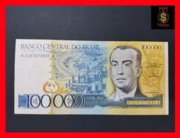 BRAZIL 100.000 100000 Cruzeiros 1985  P. 205  VF - Brazil