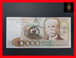 BRAZIL 10 Cruzados \ 10.000 CRUZEIROS 1986  P. 206  UNC - - Brazil