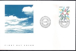 Finland 1995 -  FDC EUROPA Stamps - Peace And Freedom - Finlandia
