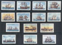 Sierra Leone 1984-85 Ships (14/16, No 2,5le) MLH - Sierra Leone (1961-...)