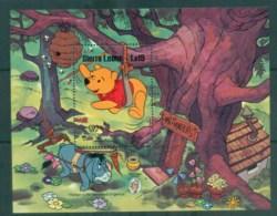 Sierra Leone 1985 Disney, Mark Twain, Winnie The Pooh MS MUH Lot78960 - Sierra Leone (1961-...)