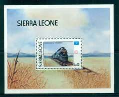 Sierra Leone 1986 AMERIPEX Train MS MUH Lot51881 - Sierra Leone (1961-...)