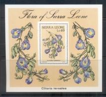 Sierra Leone 1986 Indigenous Flowers MS MUH - Sierra Leone (1961-...)