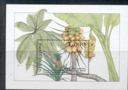 Sierra Leone 1987 Flora & Fauna, Fruit MS MUH - Sierra Leone (1961-...)