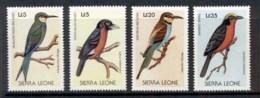 Sierra Leone 1988 Birds (4v) MUH - Sierra Leone (1961-...)