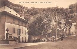73-CHAMOUX- PLACE DE LA POSTE - Chamoux Sur Gelon