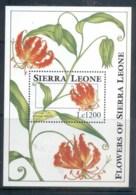 Sierra Leone 1993 Flowers MS MUH - Sierra Leone (1961-...)