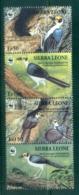 Sierra Leone 1994 WWF Birds, White-necked Picathartes MUH - Sierra Leone (1961-...)