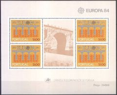 PORTUGAL 1984 Mi-Nr. Block 43 ** MNH - Europa-CEPT