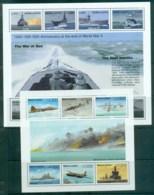 Sierra Leone 1995 End Of WWI, Ships, Planes 2x MS MLH - Sierra Leone (1961-...)