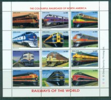 Sierra Leone 1995 Railways Of The World  MS MLH - Sierra Leone (1961-...)