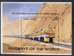 Sierra Leone 1995 Trains, Zephyr MS MUH - Sierra Leone (1961-...)