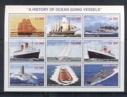 Sierra Leone 1996 Ships, Submarine Sheetlet MUH - Sierra Leone (1961-...)