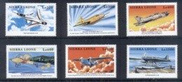 Sierra Leone 1999 Airplanes MUH - Sierra Leone (1961-...)
