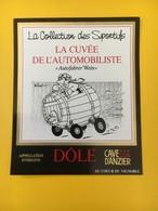 8872 - La Collection Des Sportifs La Cuvée De L'Automobilite Dôle Cave D'Anzier Suisse Illustartion Pécub - Humour
