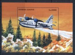 Sierra Leone 1999 Airplanes, Canadair MS MUH - Sierra Leone (1961-...)