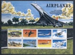 Sierra Leone 1999 Airplanes, Concorde Sheetlet MUH - Sierra Leone (1961-...)