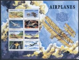 Sierra Leone 1999 Airplanes, Flyer 1 Sheetlet MUH - Sierra Leone (1961-...)