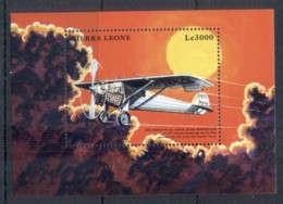 Sierra Leone 1999 Airplanes, Spirit Of St Louis MS MUH - Sierra Leone (1961-...)