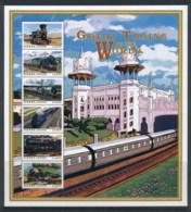 Sierra Leone 1999 Great Trains Of The World MS - Sierra Leone (1961-...)
