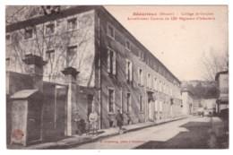 BEDARIEUX Collège De Garçons Actuellement Caserne De 122e Régiment D'Infanterie (carte Animée) - Bedarieux