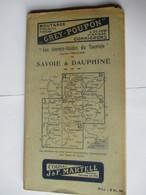 Livret Guides Du Touriste THIOLIER  De 1923 - SAVOIE & DAUPHINE - 76 Pages - 19 Photos - Dépliants Touristiques