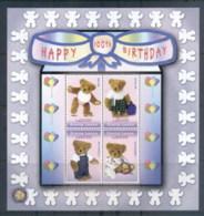 Sierra Leone 2002 100th Birthday Of The Teddy Bear MS MUH - Sierra Leone (1961-...)