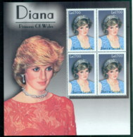 Sierra Leone 2002 Princess Diana In Memoriam, Princess Of Wales MS MUH - Sierra Leone (1961-...)