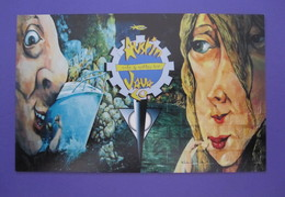 AUSTIN TEXAS USA JAVA CAFE COFFEE BAR POSTCARD PICTURE ADVERTISING DESIGN ORIGINAL PHOTO POST CARD PC STAMP - Advertising